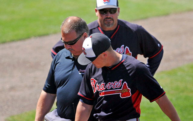 Kris Medlen Leaves Game