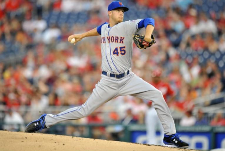 New York Mets pitcher Zack Wheeler